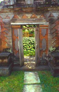 Bali Eingang